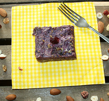 Blueberry & Oat Square