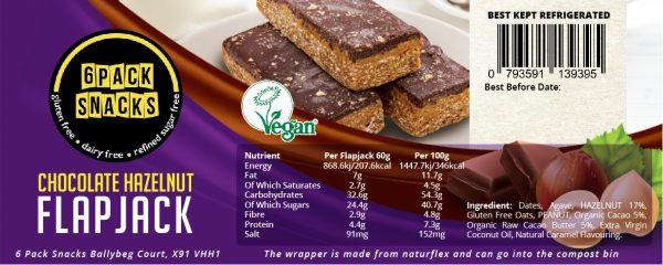 6 Pack Snacks_Chocolate Hazelnut Flapjack_10x4cm-01
