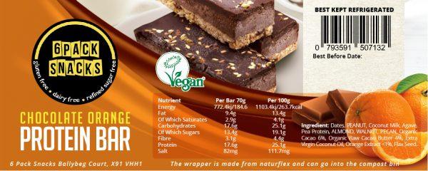 6 Pack Snacks_Chocolate Orange Protein Bar_10x4cm-01