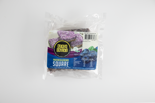 Protein Blueberry Sqaure
